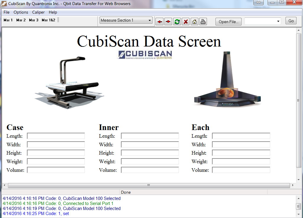 dimensioning system software trial