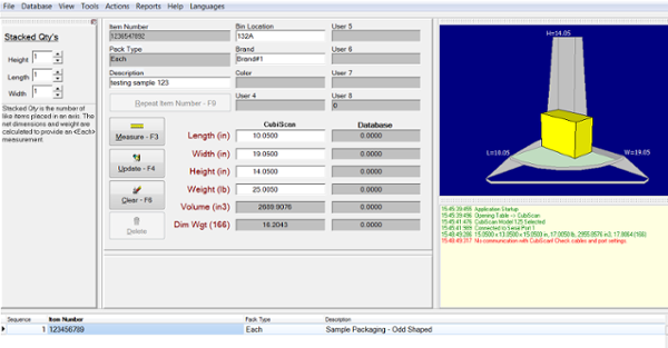 CubiScan software solution image